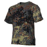 Kinder T-Shirt, flecktarn